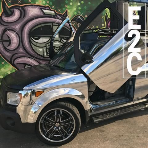 E2 Chrome - Mix On Wheels