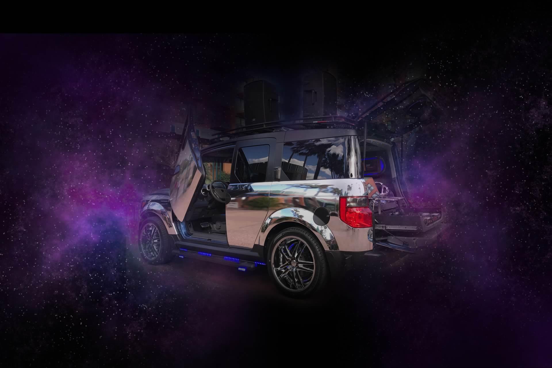 E2 Chrome - Mix On Wheels