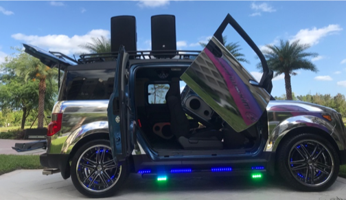 Honda Element Xtreme; Mobile DJ Vehicle Entertainment