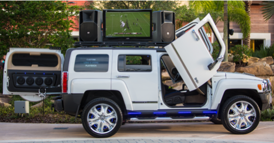 H3 Xtreme; Mobile DJ Vehicle Entertainment
