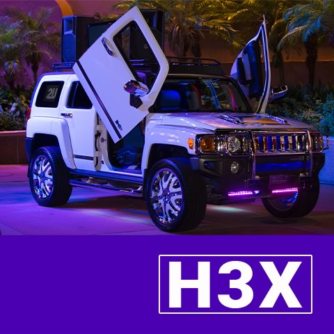H3X-Mix on Wheels