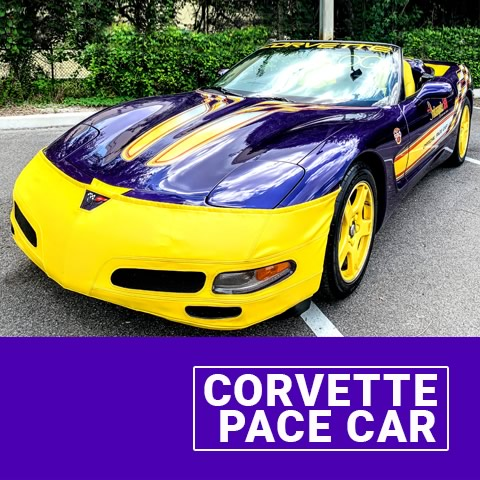 PC- Corvette Pace Prop Car Mix on Wheels