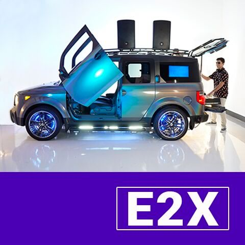 E2X - Mix on Wheels
