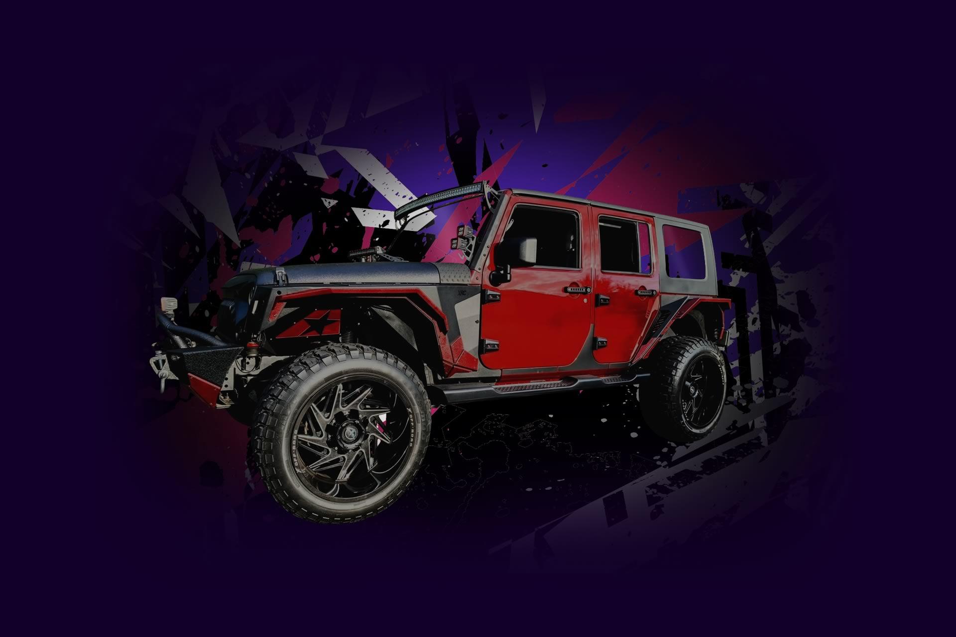 Jeep Xtreme DJ vehicle